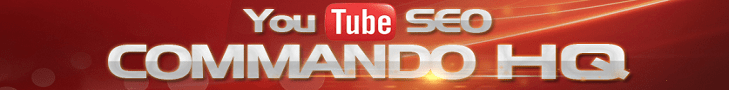 Youtube SEO Commando HQ Suite Banner